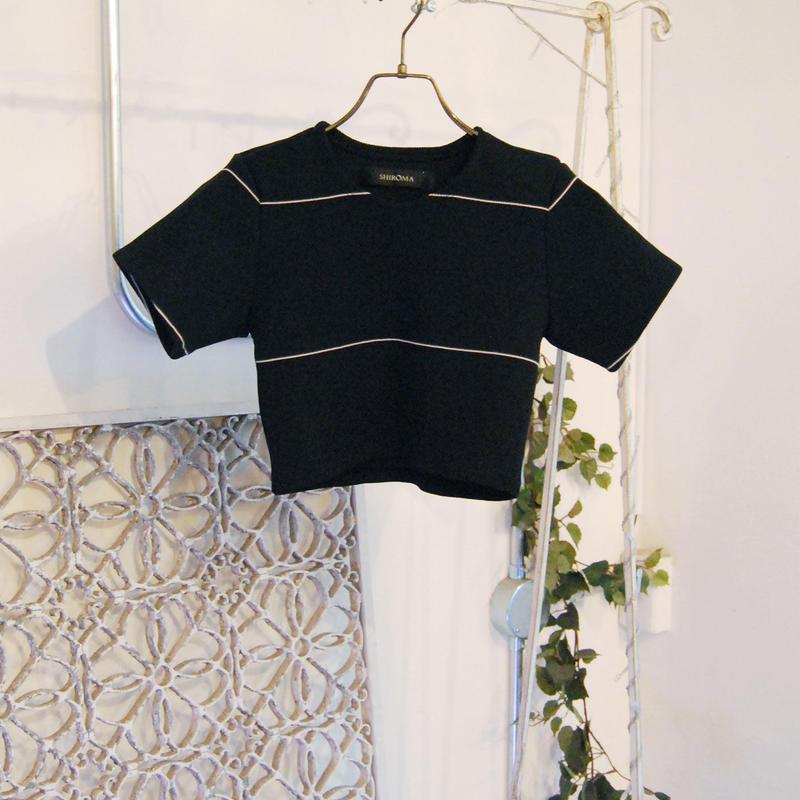 SHIROMA 19S/S rib knit top