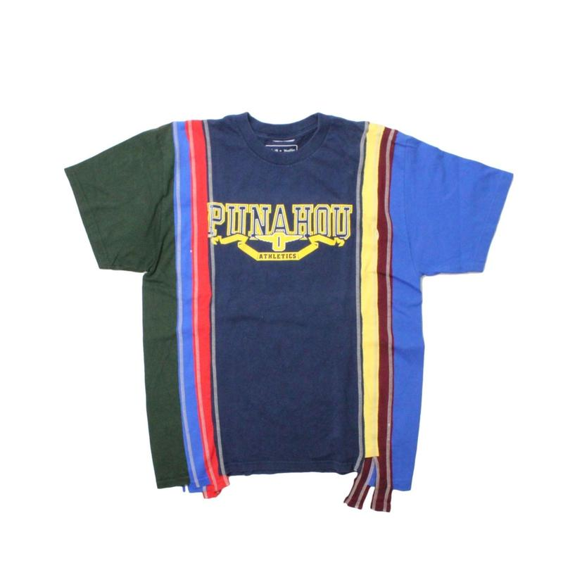 Rebuild by Needles 7 Cut Tee College NAVY ② - size M