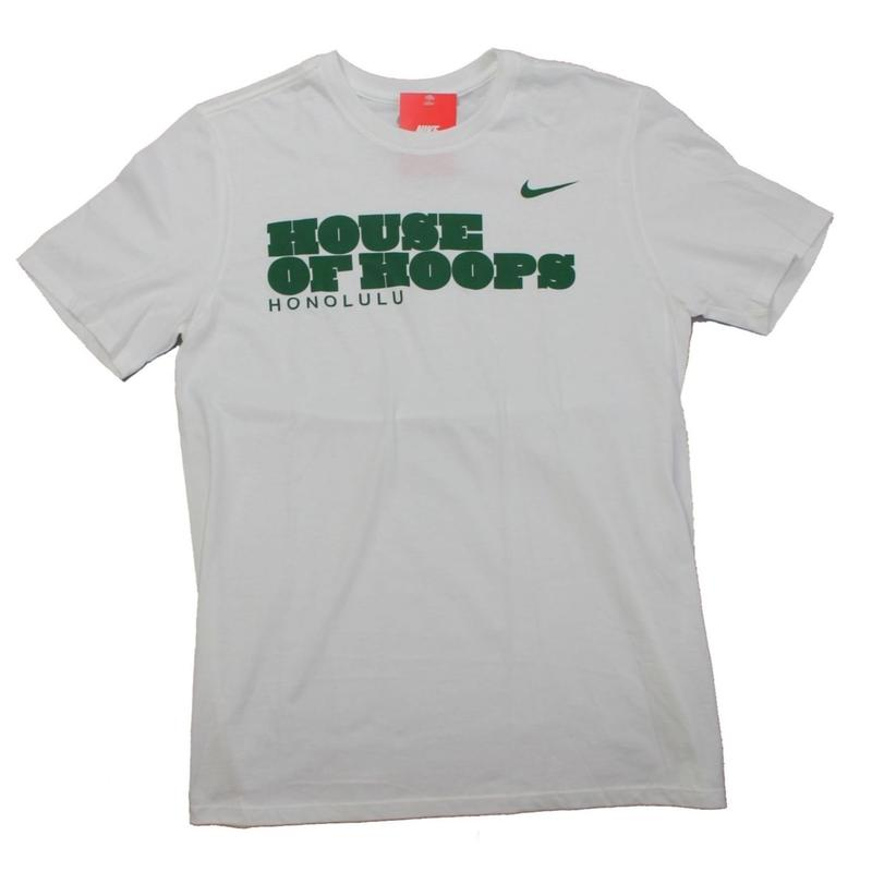 NIKE  HOUSE OF HOOPS HONOLULU TEE -SIZE M -
