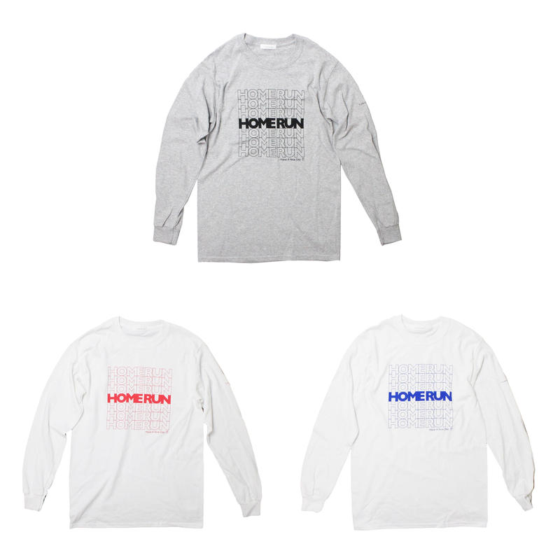 TAMANIWA - HOMERUN LONG SLEEVE TEE