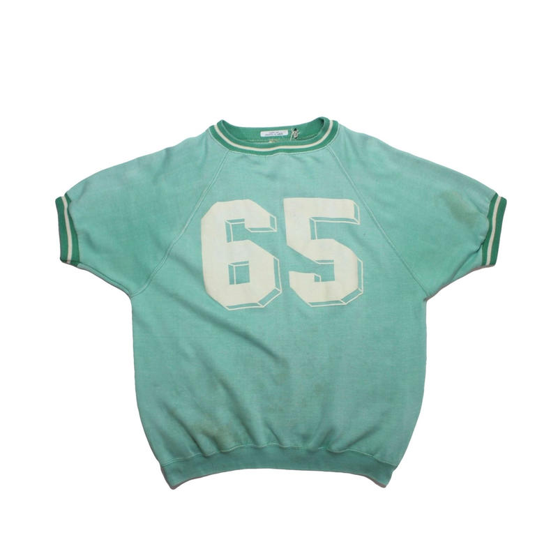 COPY CAT   -コピーキャット-  OLD SHORT SLEEVE SWAET GREEN - size M -