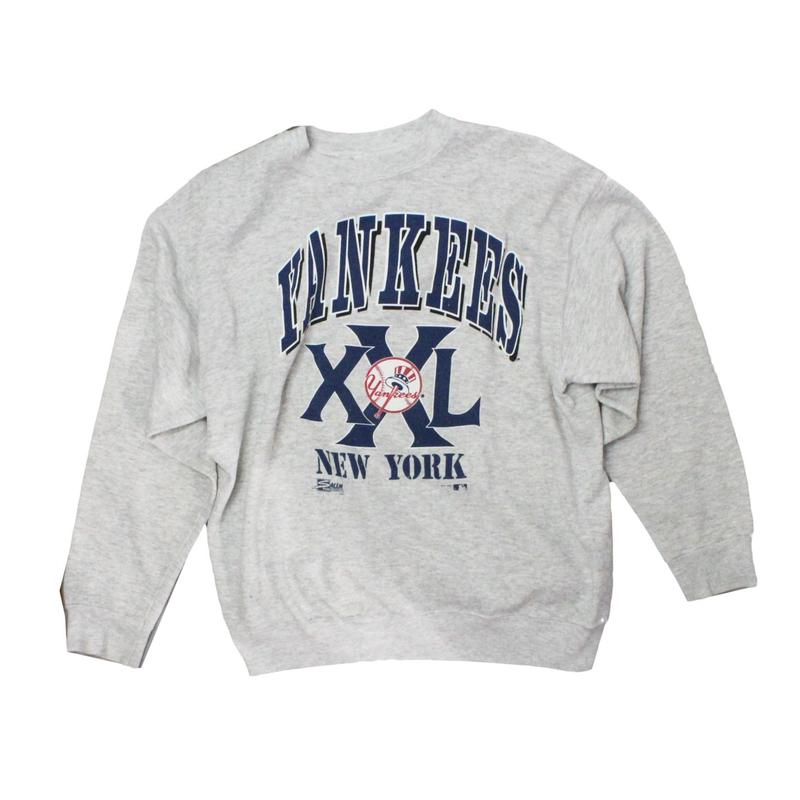 Newyork Yankees   vintage long sleeve sweat ② - size L