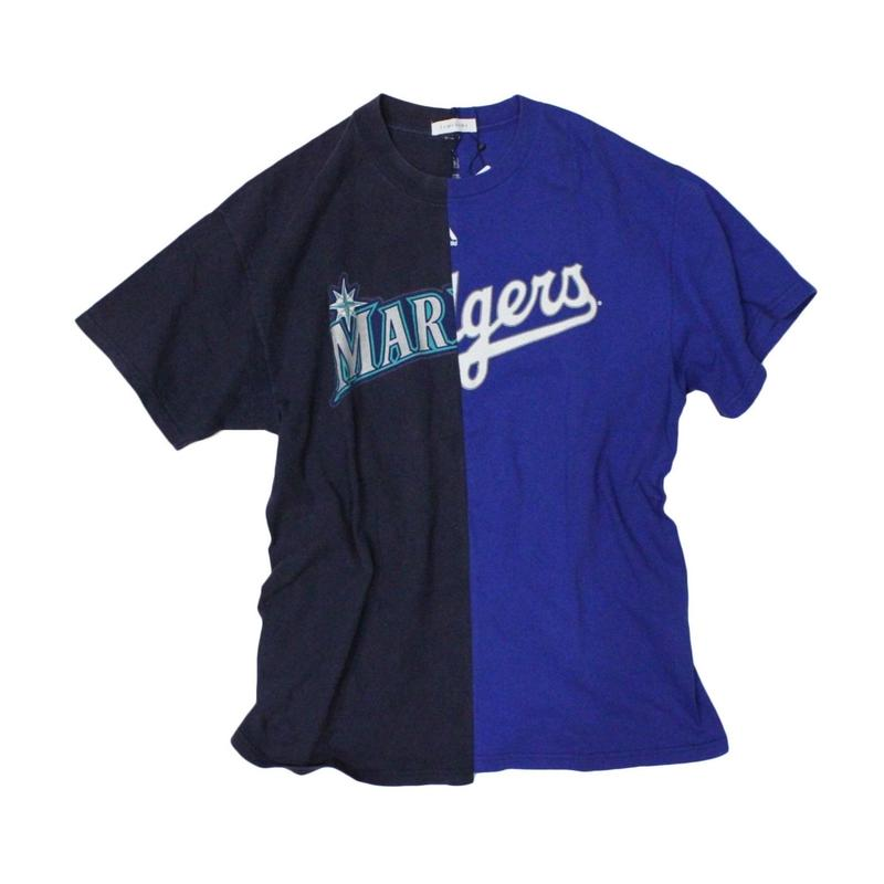 TAMANIWA - MLB half remake tee  #7