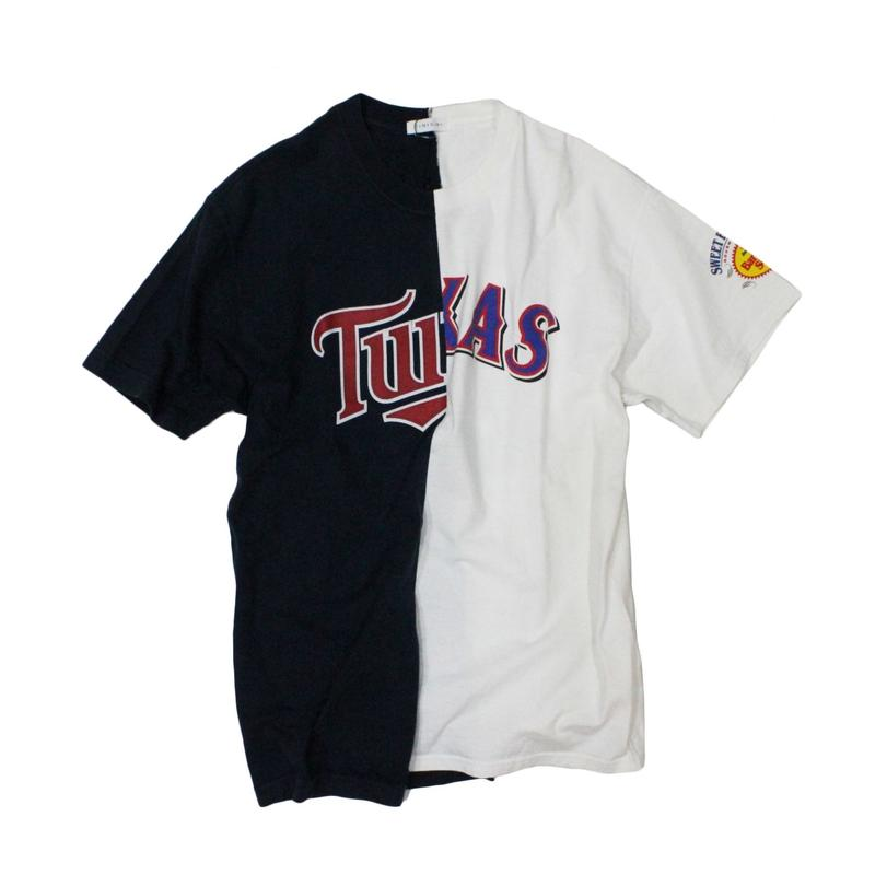 TAMANIWA - MLB half remake tee  #10