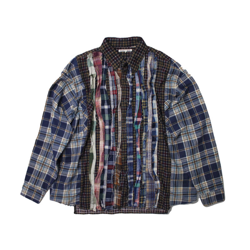 Rebuild by Needles Ribbon Flannel Shirt - onesize ②
