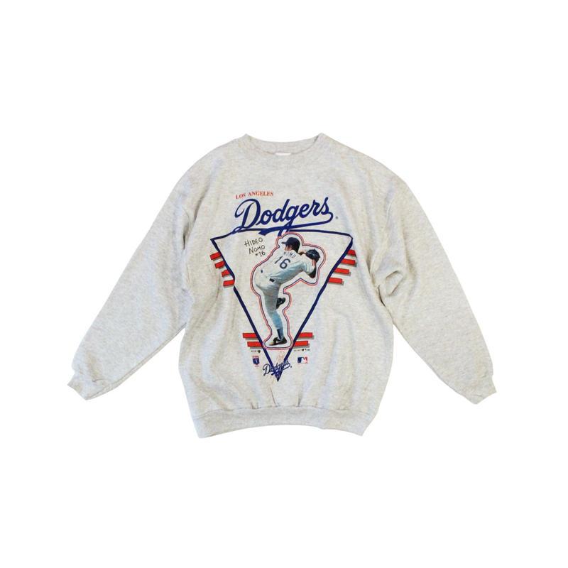 Los Angeles Dodgers #16 HIDEO NOMO deadstock sweat ④ - size L