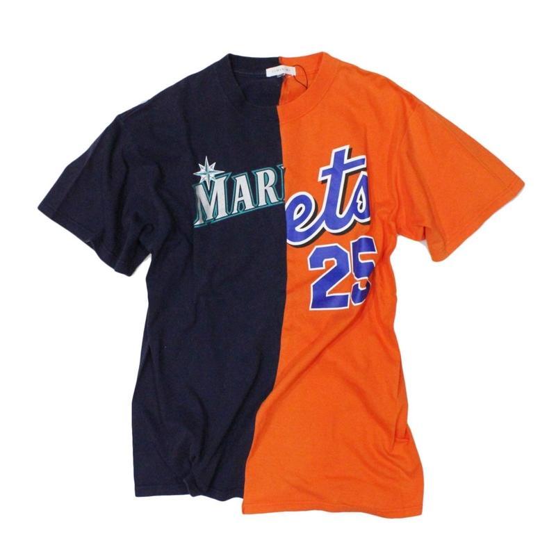 TAMANIWA - MLB half remake tee  #6
