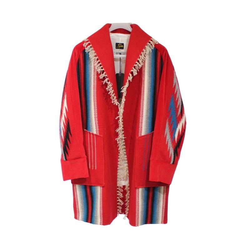 Needles  Shawl Collar Coat Ortega   RED - M size