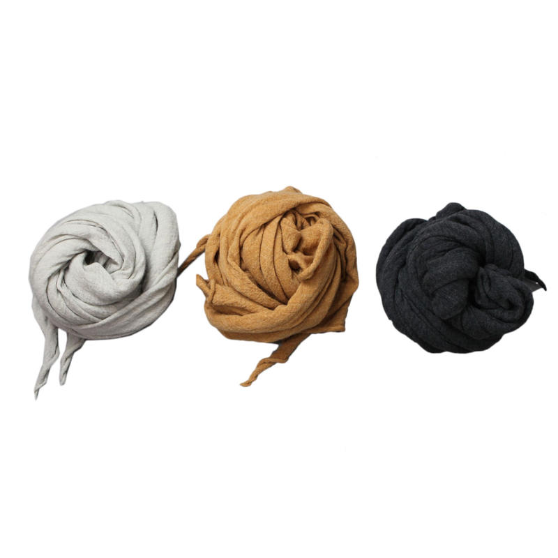 RYU washble  wool gauze stole