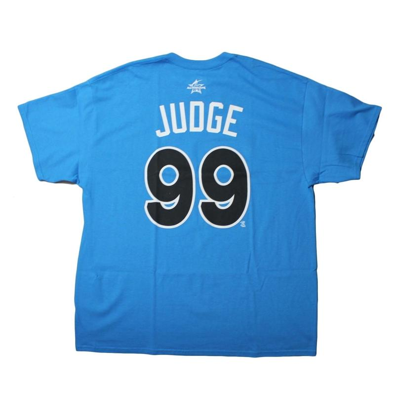 Majestic ALLSTAR TEE AMERICAN LEAGUE  #99 JUDGE