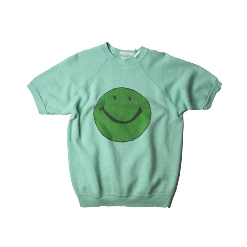 COPY CAT   -  OLD SHORT SLEEVE SWAET SMILE GREEN ②  - size ASORT