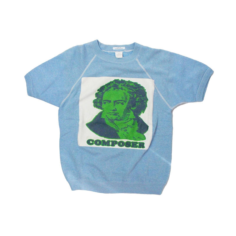 COPY CAT   -  OLD SHORT SLEEVE SWAET COMPOSER S.BULE - size ASORT