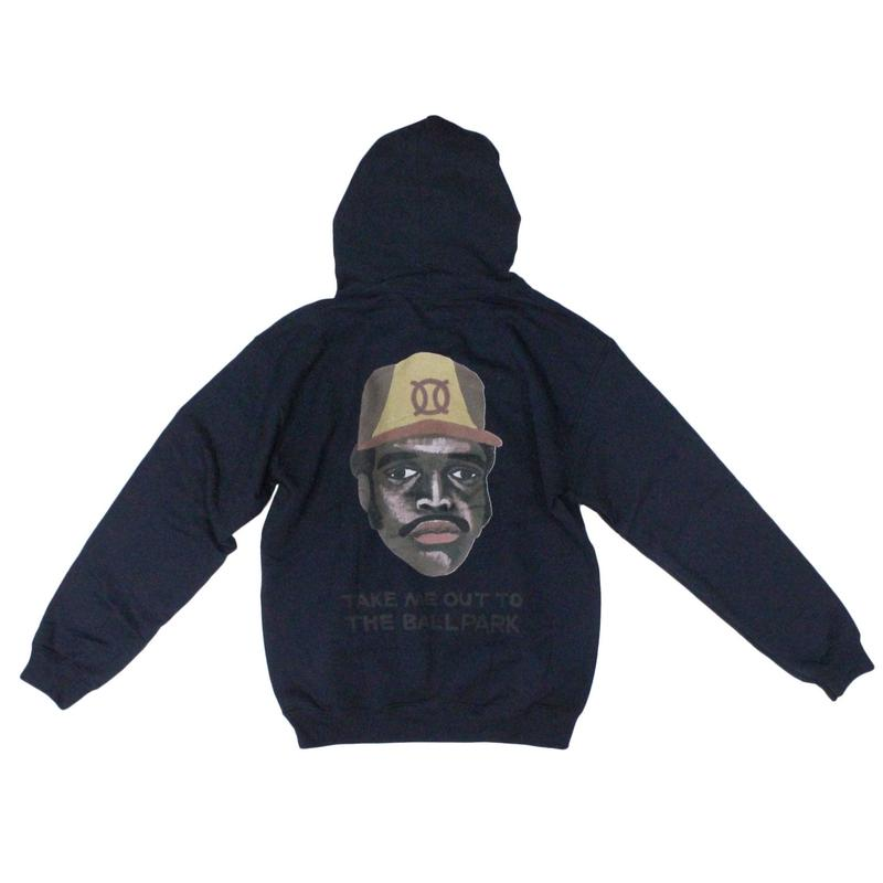ball park  back print  Hoodie Sweat - TONY