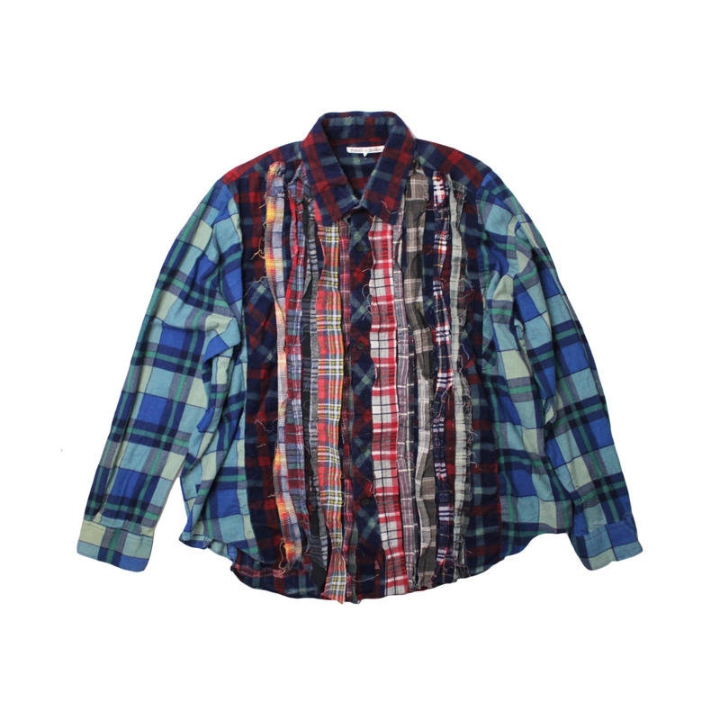 Rebuild by Needles Ribbon Flannel Shirt - onesize  ①