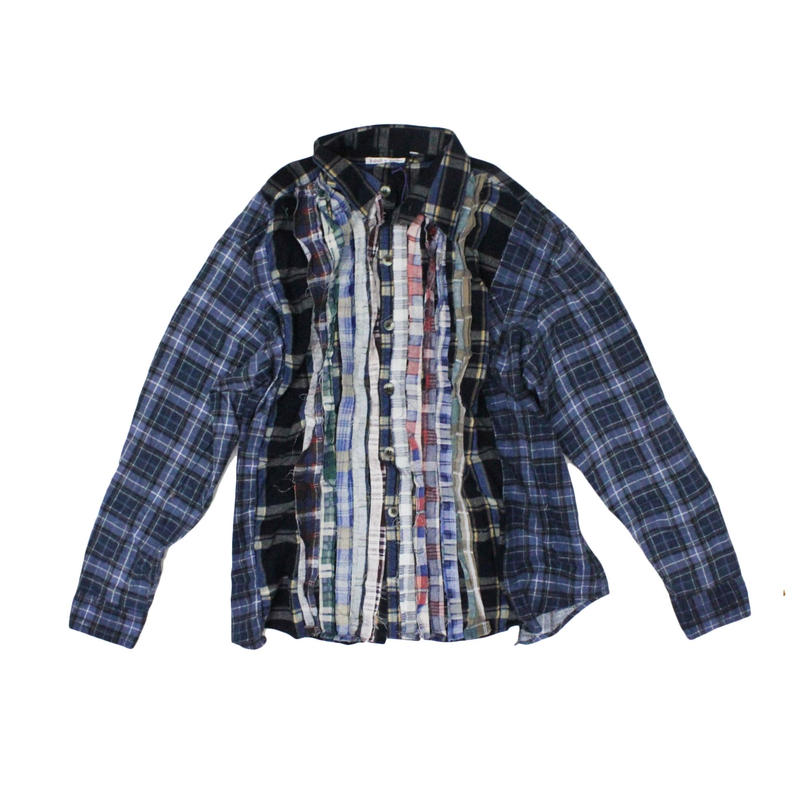 Rebuild by Needles Ribbon Flannel Shirt wide - onesize ③