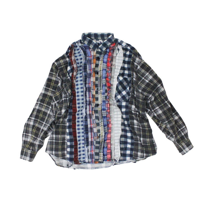 Rebuild by Needles Ribbon Flannel Shirt wide - onesize ⑥