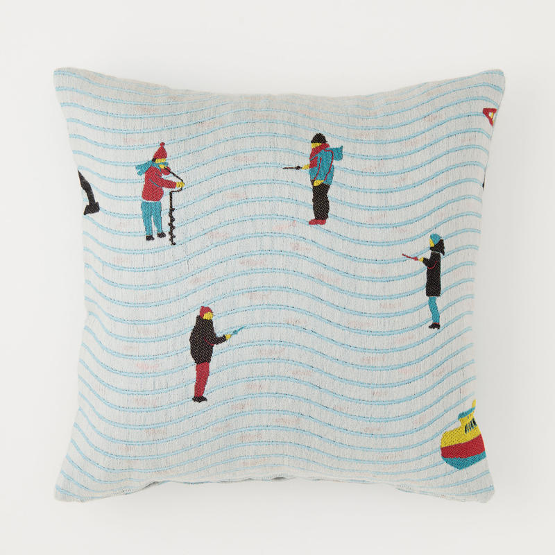 snip snap LAPLAND cushion cover | fishing