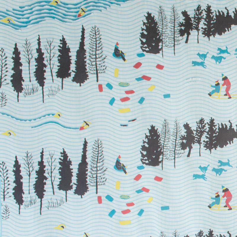 SNIP SNAP LAPLAND | fabric