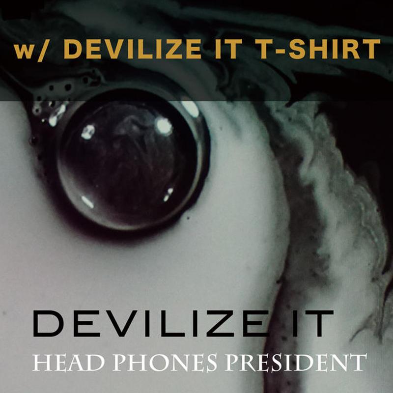DEVILIZE IT <2CD + Photo Book> with DEVILIZE IT T-SHIRT
