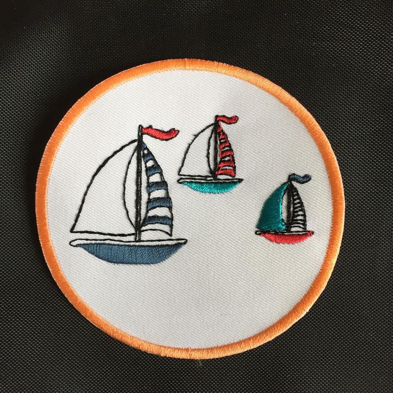 ワッペン Yacht.
