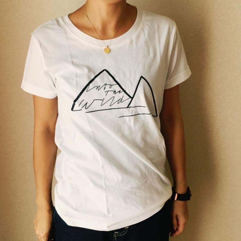 Into the wild. Tシャツ