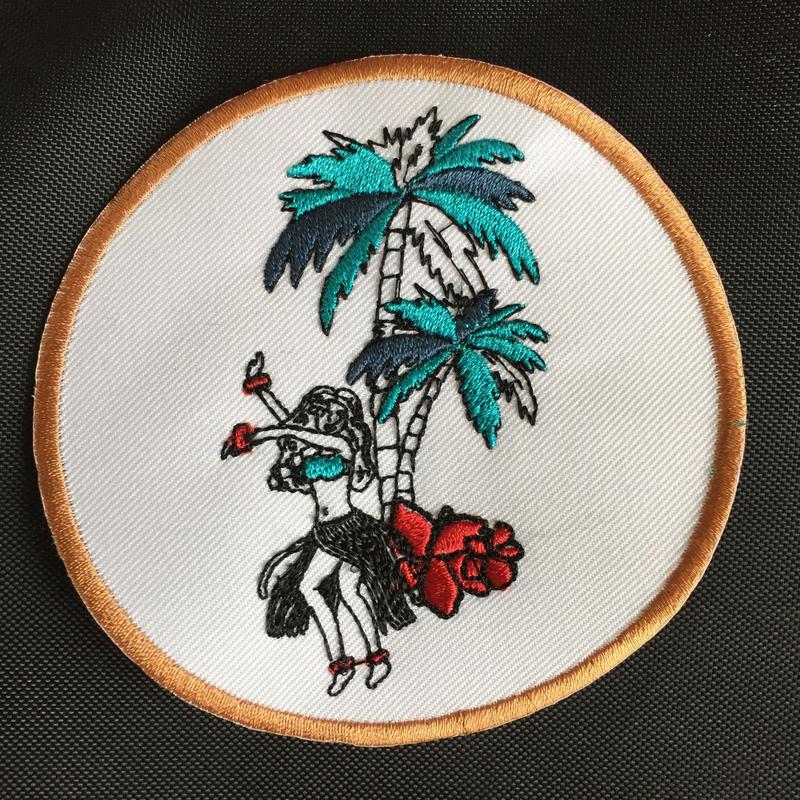 ワッペン Aloha!shall we dance?