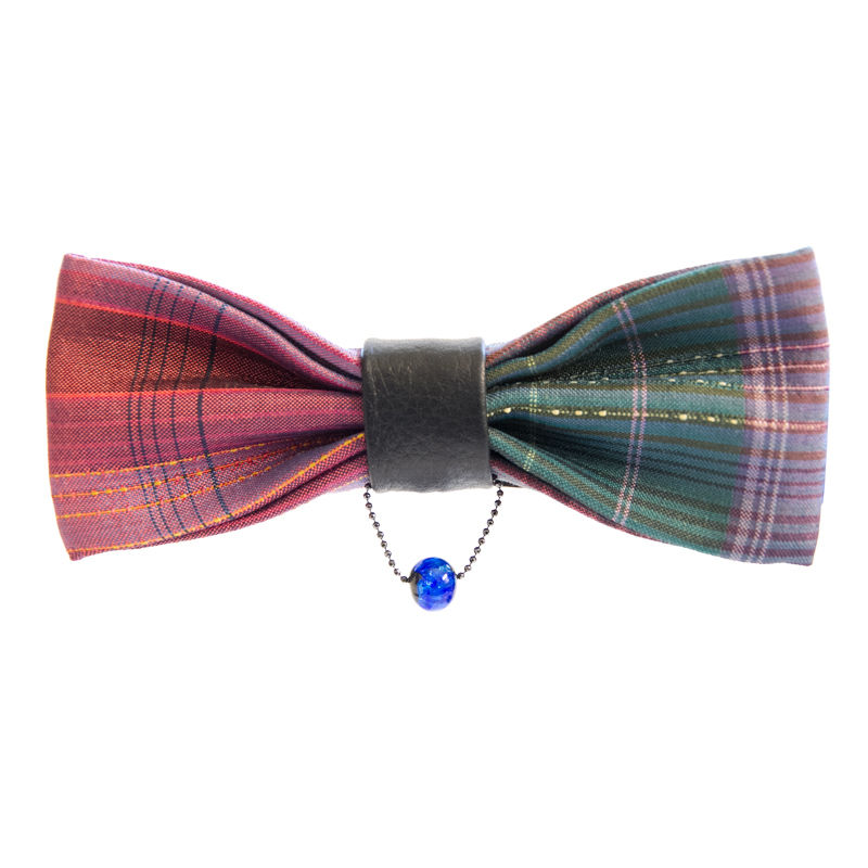 Sai(彩)/BOW TIE/dark red×green