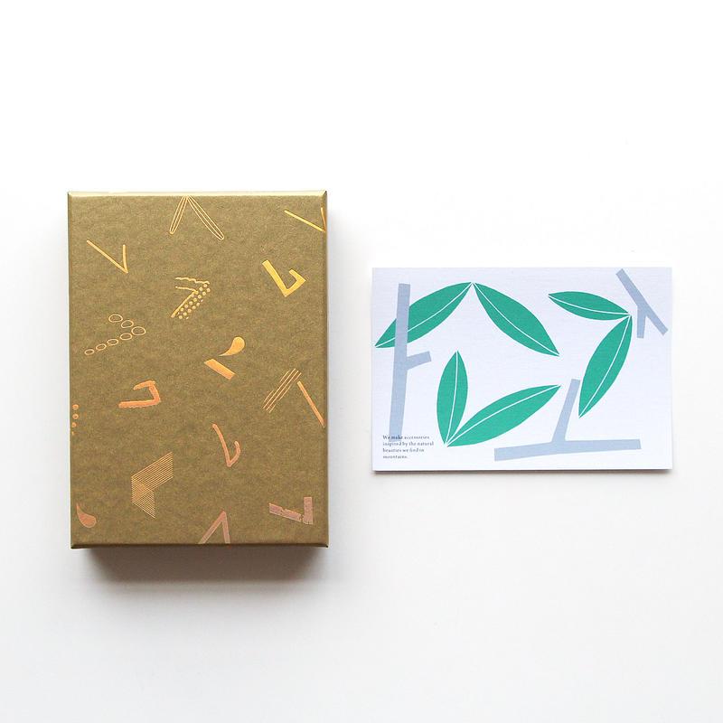 「haconiwa creators 2019」 BOX(アクセサリー作家/デザイナー 宮田有理ポストカード付)