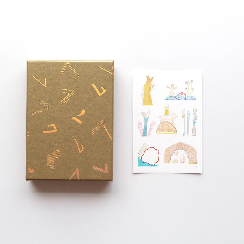 「haconiwa creators 2019」 BOX(イラスト/木工作家 渡邉悠子ポストカード付)
