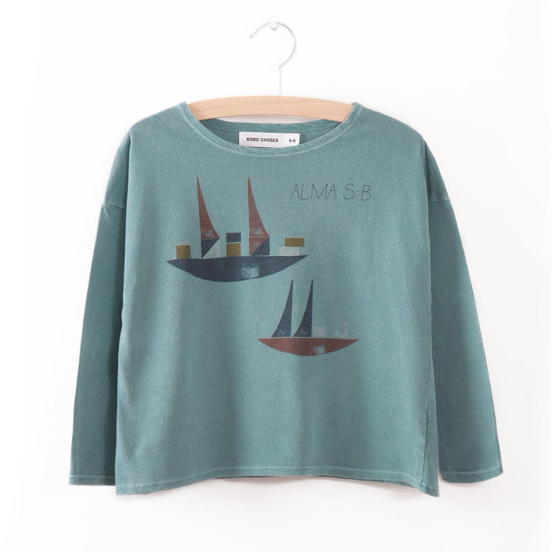 40%OFF!【Bobo Choses】T-SHIRT ALMA S.B.(カットソー)