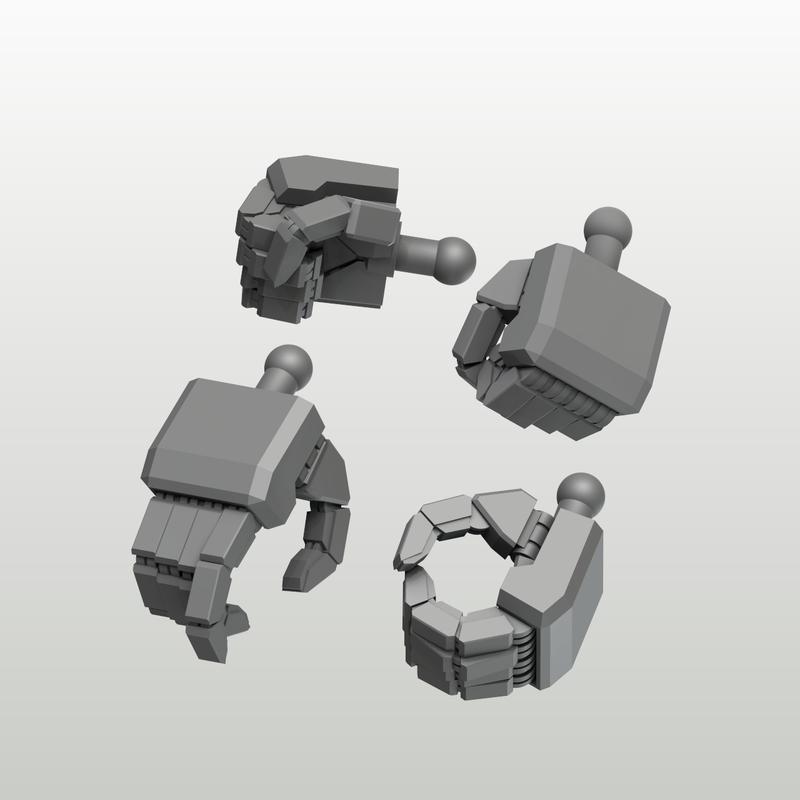 EIGHT MechHand:角 スモールサイズ詰め合わせセット