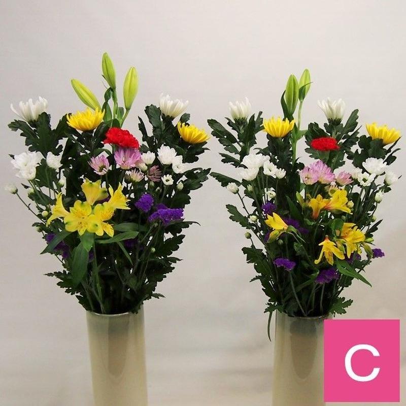 【おまかせ定期便C】お仏壇の花 2160円×2束