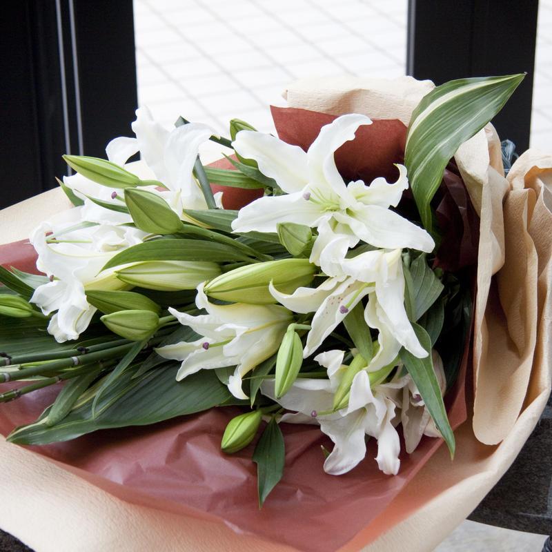 定期お届け便 季節の花束 8,000円