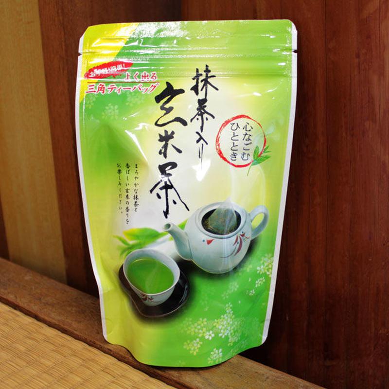 抹茶入り玄米茶 ティーバッグ (4個セット)