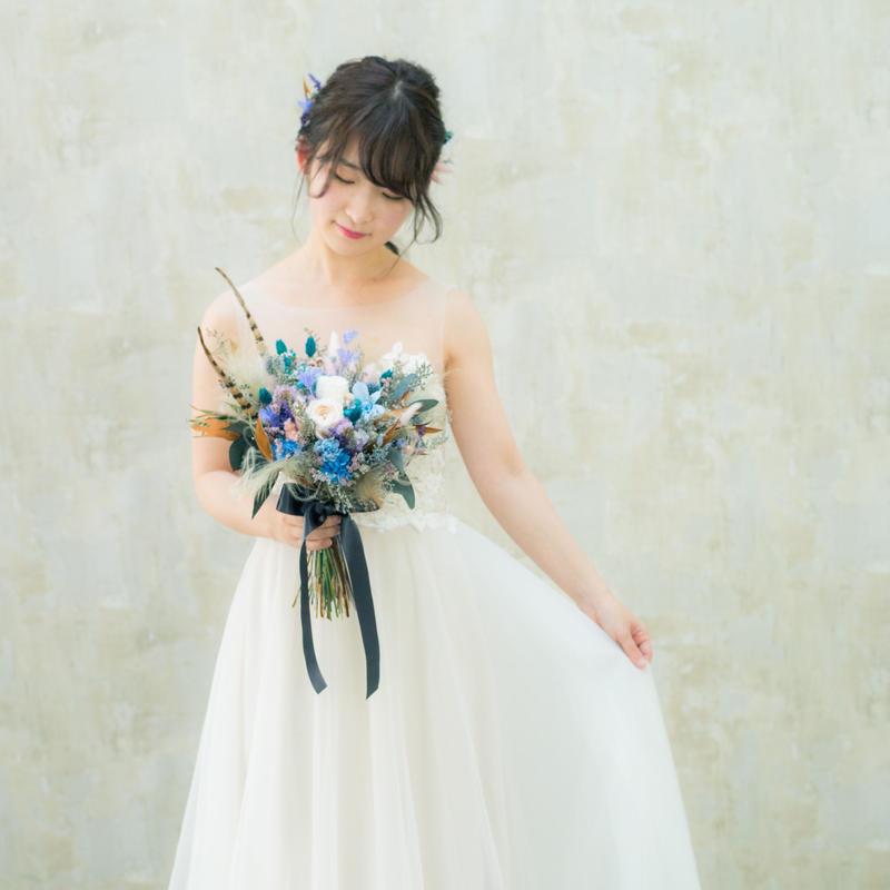 bouquet set * feather *