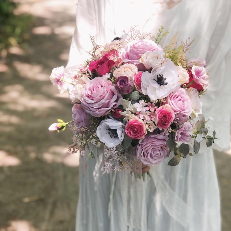 レンタルブーケ *anemone × sugar pink*  3泊4日