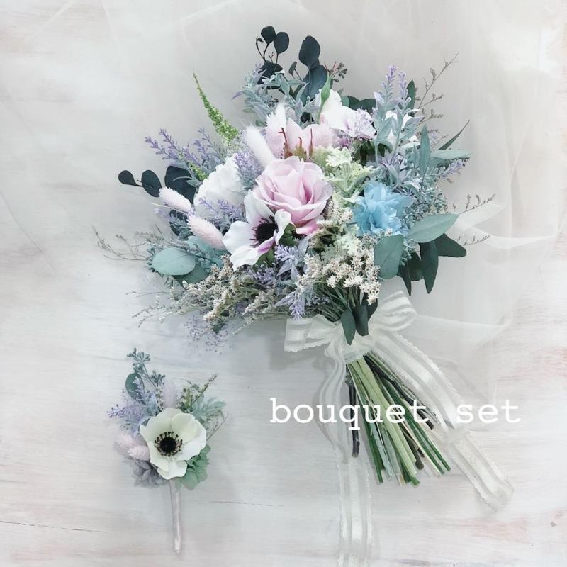 bouquet  set(オーダーメイドブーケ 3点セット)