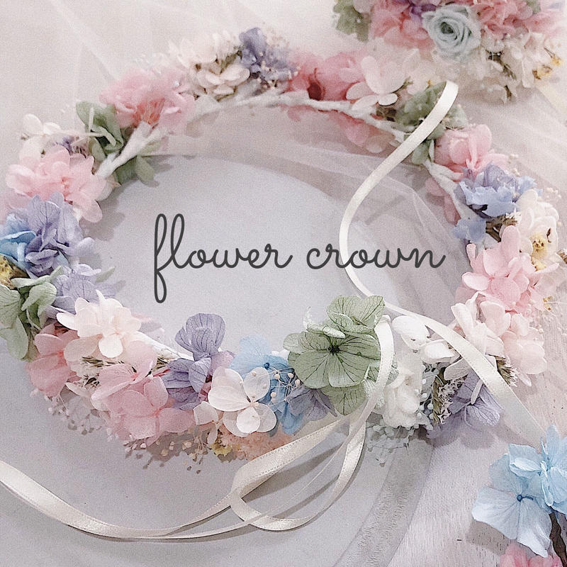 flower crown(オーダーメイド 花冠)