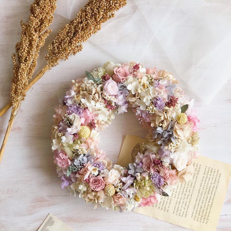 gift wreath ( full type  φ24cm)