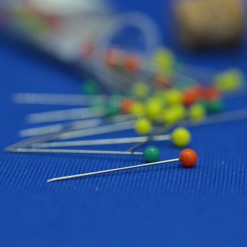 チューリップ 針ものがたり    まち針  アップリケ (0.40㎜×25.0㎜) 60本入り
