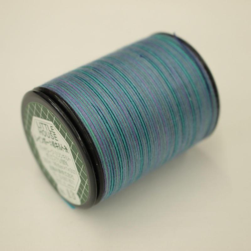 LITTLE HOUSE レインボーキルト糸 #40/300m  色番13
