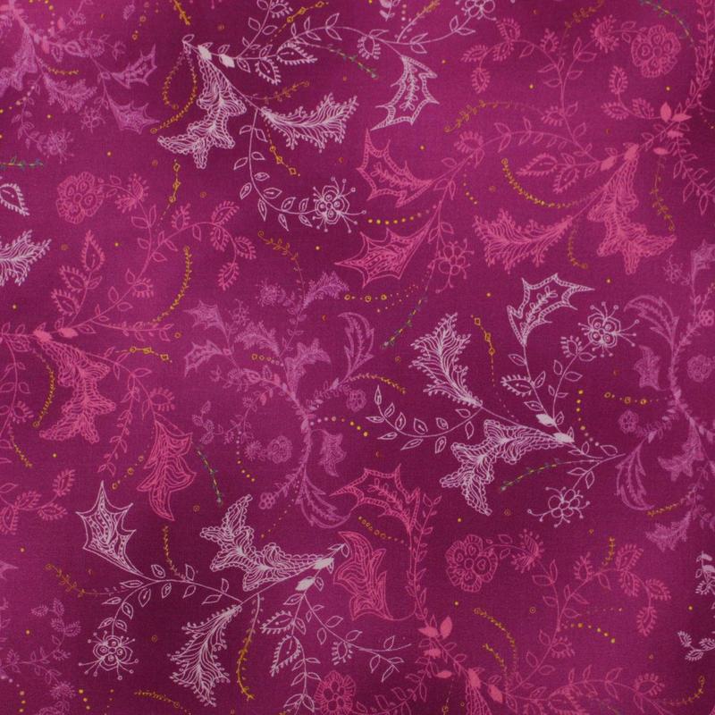 QTファブリック Enchanted Floral 110cm幅【10cm単位】1649-26776