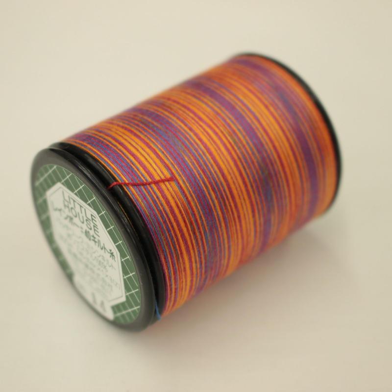 LITTLE HOUSE レインボーキルト糸 #40/300m  色番14