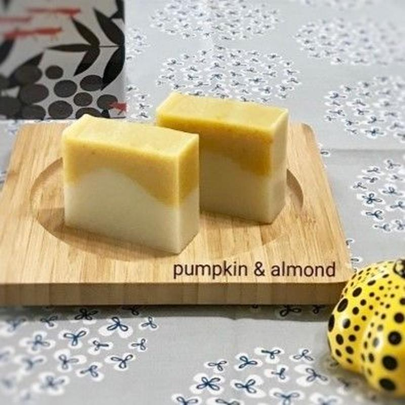 Pumpkin & almond soap