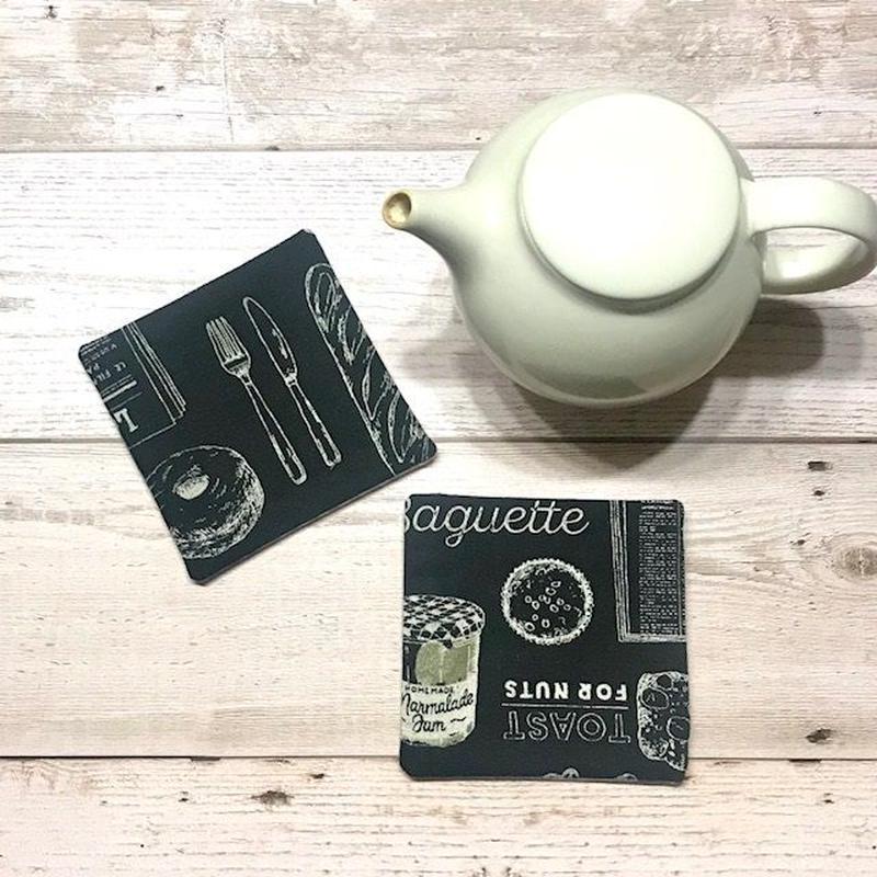 コースター(Café)2枚セット