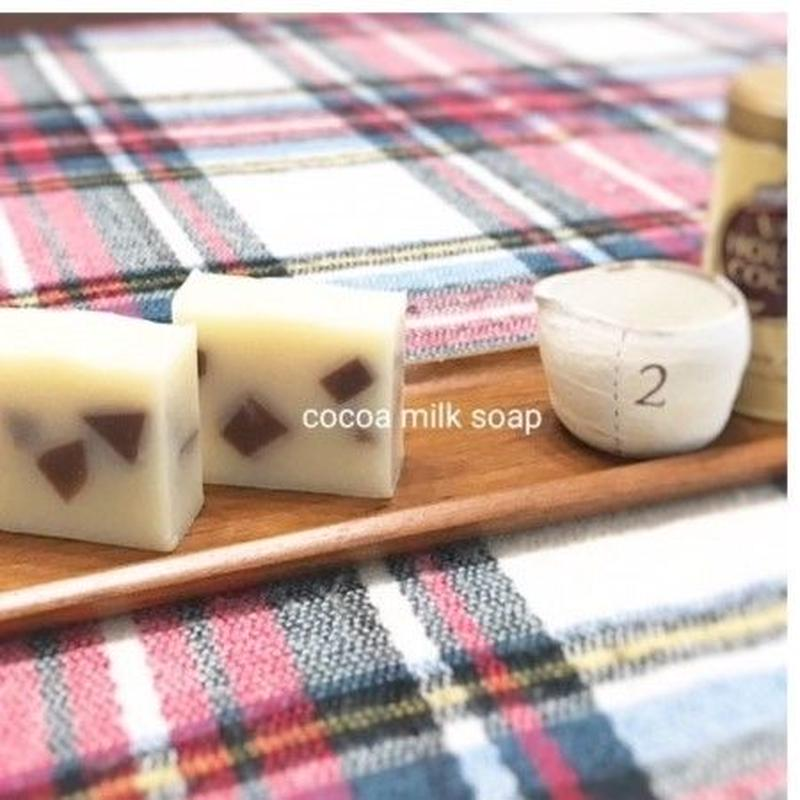 Cocoa milk soap