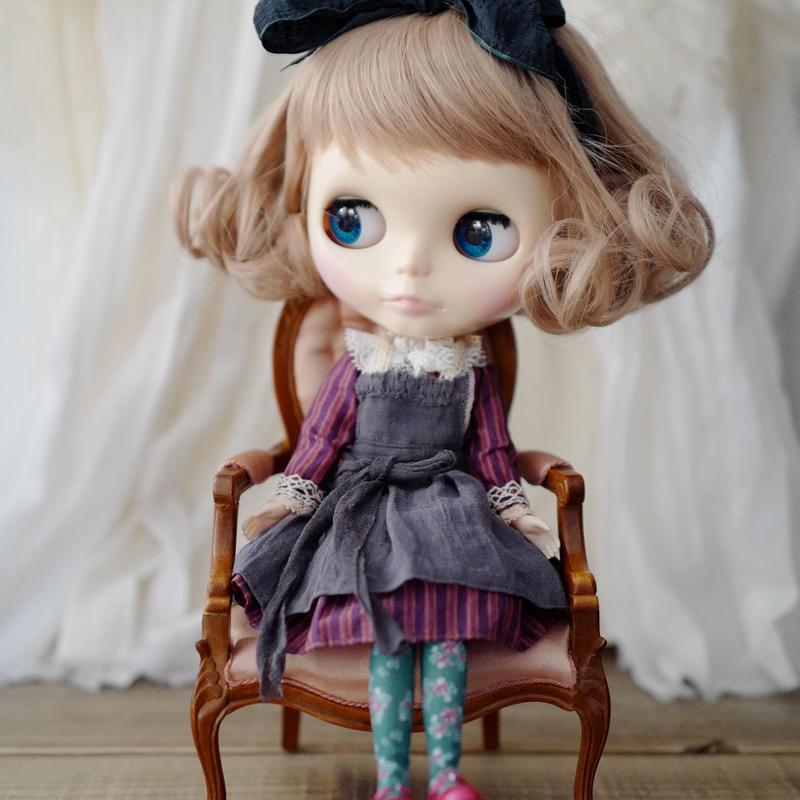 [完成品]  アリスワンピース 雅 / Alice dress Miyabi color