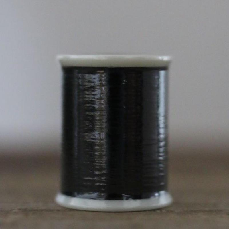シャッペスパン 薄地用ミシン糸 TicTic PREMIER 1000m巻 黒色