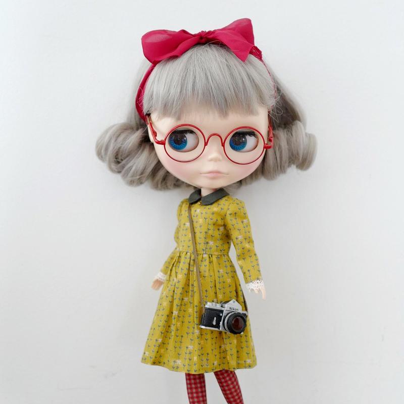 DIY リボン&タイム ワンピース(黄)キット