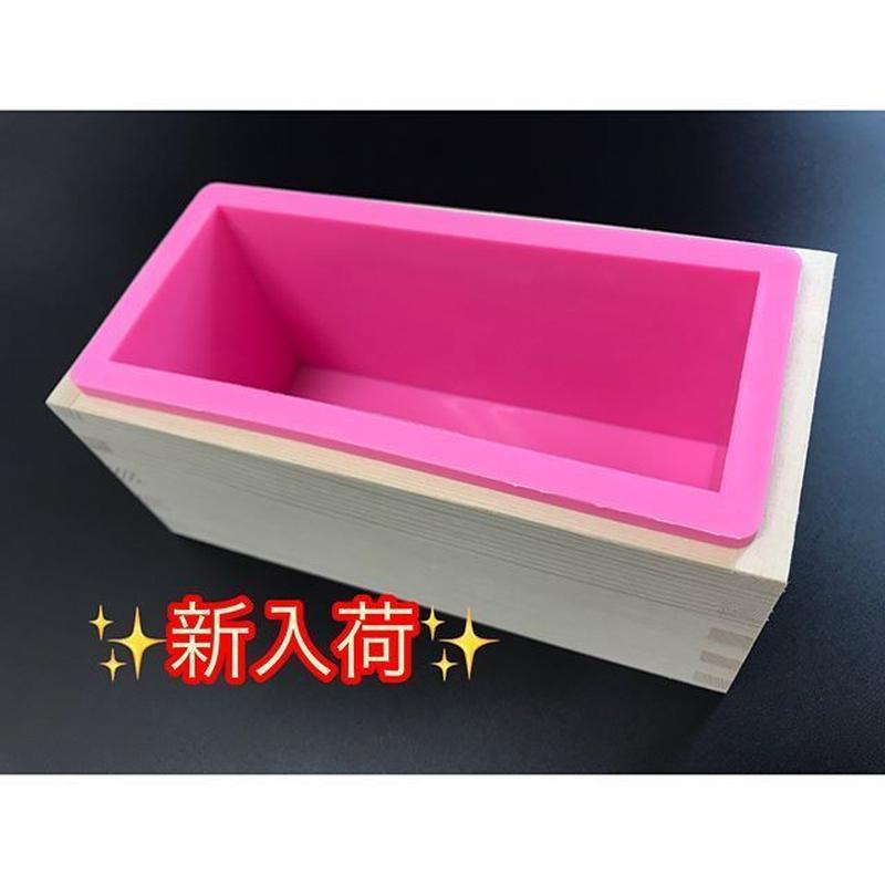 木箱付きのシリコンモールド(Sサイズ)